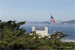 Alcatraz from Telegraph Hill