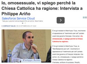 Intervista a Philippe Ariño