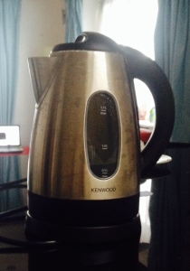 My kettle. A must-have for tea lovers