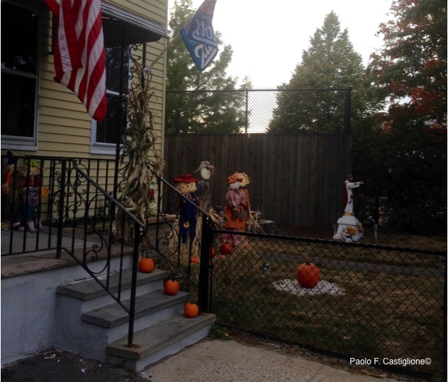 Scarecrows, pumpkins and Jesus all share the same garden. If it's not communion this, what then?